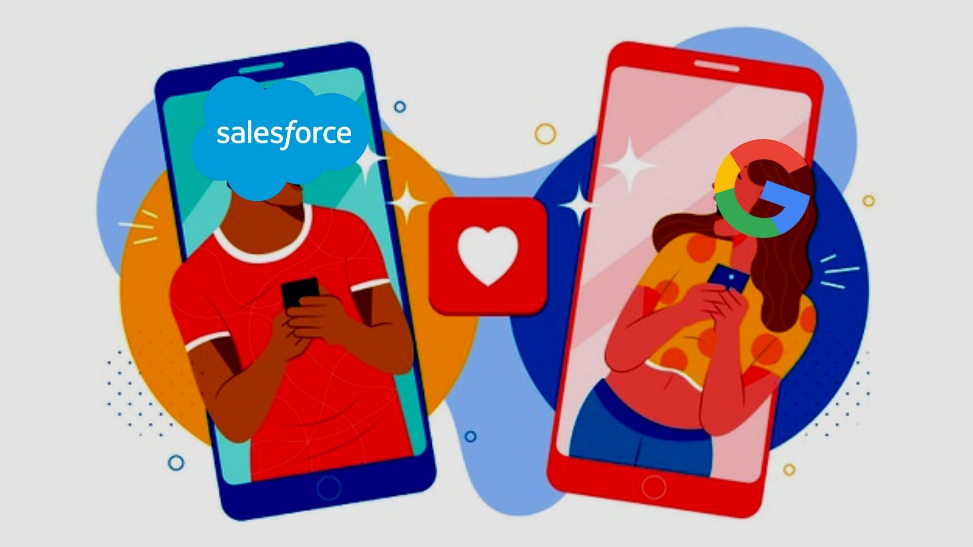 News: Salesforce Dating Google for Improved Marketing Analytics